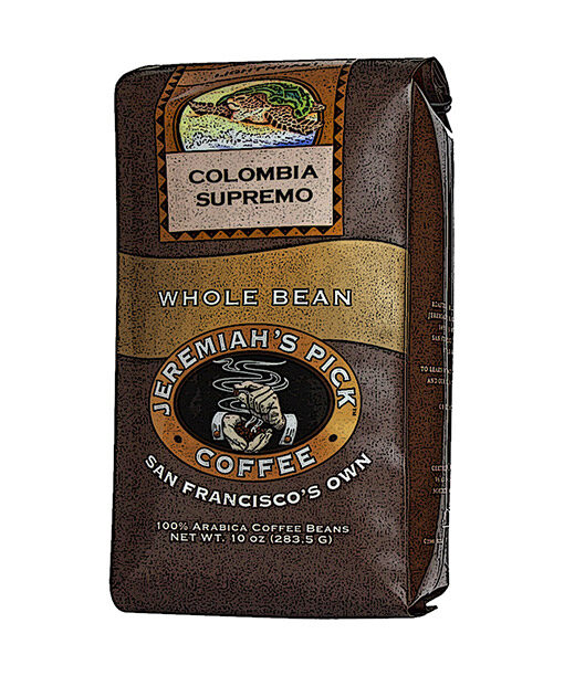 Jeremiah's Pick Premium Colombia Supremo Whole Bean Coffee Featured Image