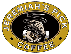 Jeremiah's Pick Coffee Roaster Logo
