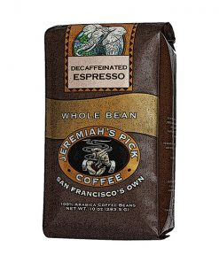Jeremiah's Pick Decaffeinated Espresso Whole Bean Featured Image