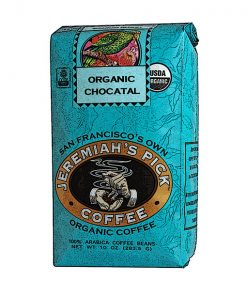 Jeremiah's Pick Blue Organic Chocatal Whole Bean Coffee Featured Image