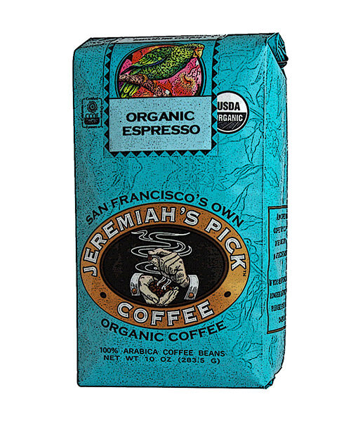 Jeremiah's Pick Blue Organic Espresso Whole Bean Featured Image