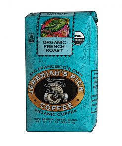 Jeremiah's Pick Blue Organic French Roast Whole Bean Coffee Featured Image