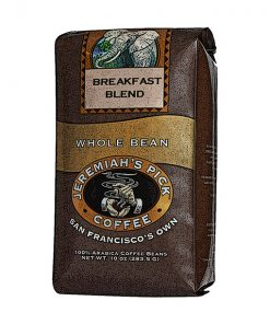 Jeremiah's Pick Premium Breakfast Blend Whole Bean Coffee Featured Image