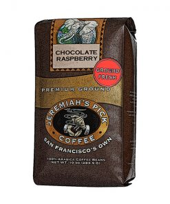 Jeremiah's Pick Premium Chocolate Raspberry Ground Coffee Featured Image