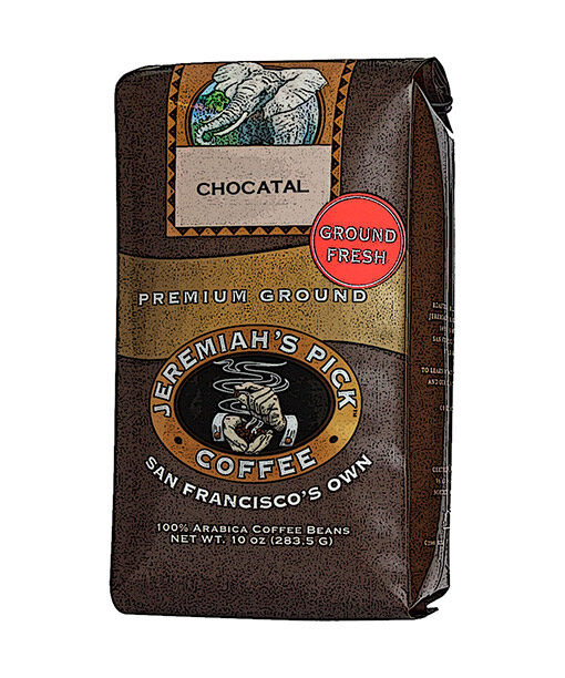 Jeremiah's Pick Premium Chocatal Ground Coffee Featured Image
