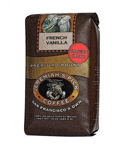 Jeremiah's Pick Premium French Vanilla Ground Coffee Featured Image