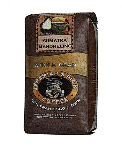 Jeremiah's Pick Premium Sumatra Mandheling Whole Bean Coffee Featured Image