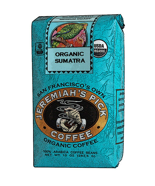 Jeremiah's Pick Blue Organic Sumatra Coffee