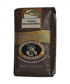 Jeremiah's Pick Premium Kona Macadamia Nut Whole Bean Coffee Featured Image